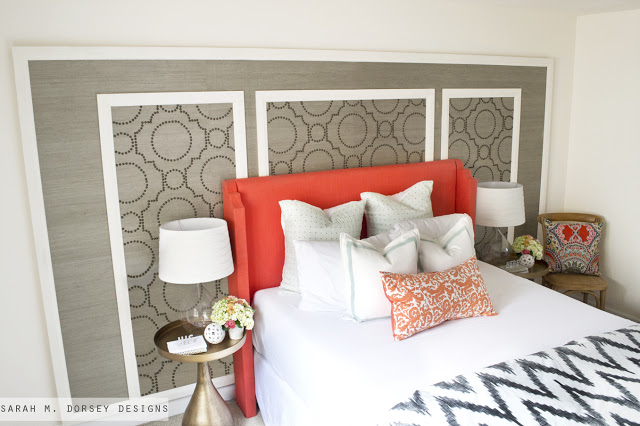Temporary Bedroom Accent Wall