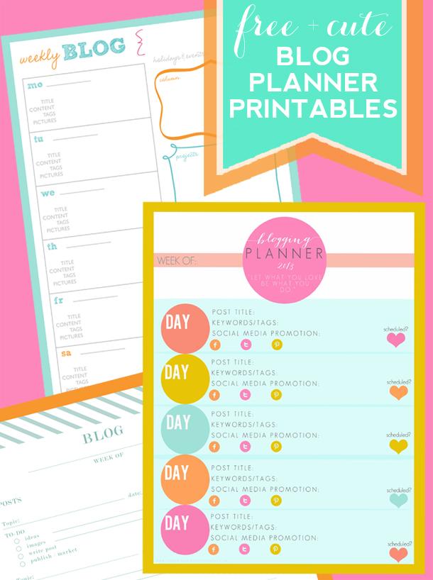 Blog-Planner-Printables